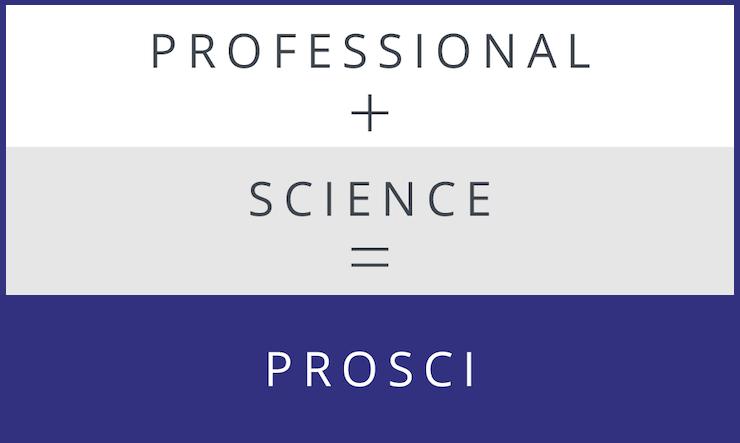 Professional + Science = Prosci